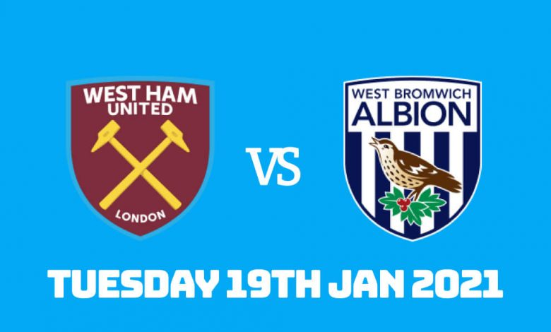 Betting Preview: West Ham vs West Bromwich Albion
