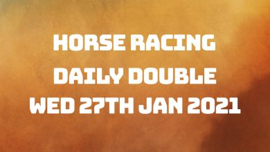 Daily Double - 27th January 2021