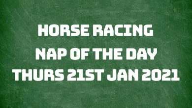 Nap of the Day – 21st January 2021
