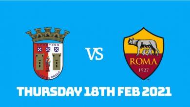 Betting Preview: Braga vs AS Roma