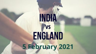Cricket Betting Preview India vs England - 5th February 20210221