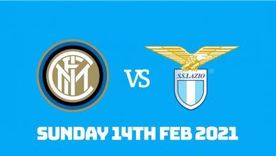 Betting Preview: Inter vs Lazio 14th Feb 2021