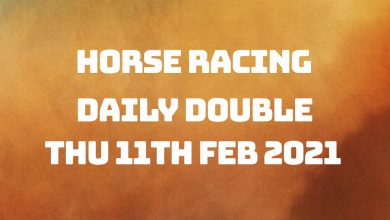 Daily Double - 11th Feb 2021