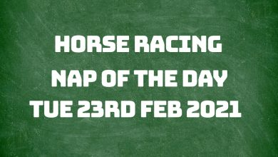 Nap of the Day - 23rd Feb 2021