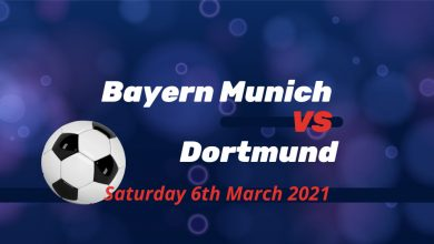 Betting Preview: Bayern Munich v Borussia Dortmund - Saturday @ 5.30 pm