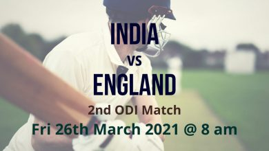 India vs England – 2nd ODI Preview