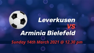 Betting Preview: Leverkusen v Arminia Bielefeld
