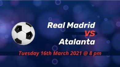 Betting Preview: Real Madrid v Atalanta