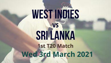West Indies vs Sri Lanka – 1st Test Match Preview & Prediction