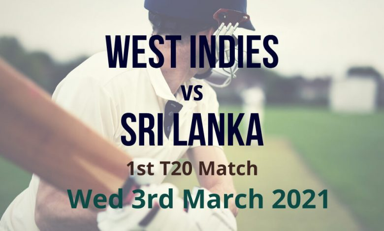 West Indies vs Sri Lanka – 1st Test Match Preview & Prediction