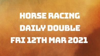 Daily Double - 12th March 2021