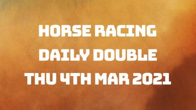 Daily Double - 4th Mar 2021