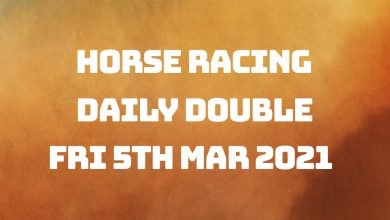Daily Double - 5th Mar 2021