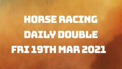 Daily Double - 19th March 2021