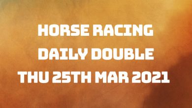 Daily Double - 25th March 2021