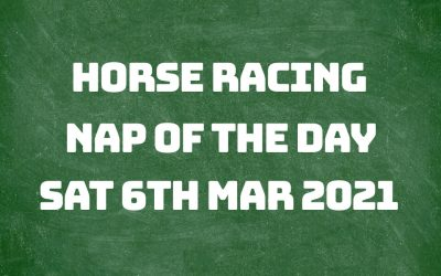Nap of the Day – 6th March 2021