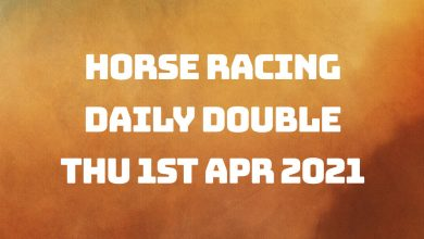 Daily Double - 1st April 2021