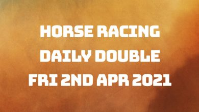 Daily Double - 2nd April 2021