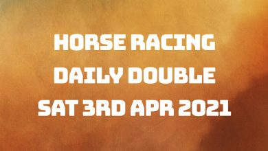 Daily Double - 3rd April 2021