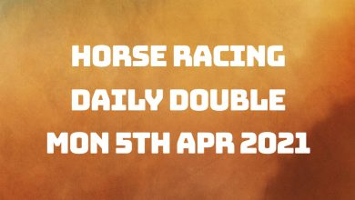 Daily Double - 5th April 2021