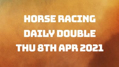 Daily Double - 8th April 2021
