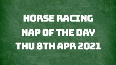 Nap of the Day - 8th April 2021